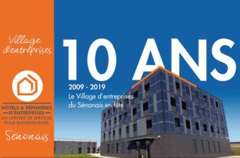 Le Village d'Entreprises fête ses 10 ans