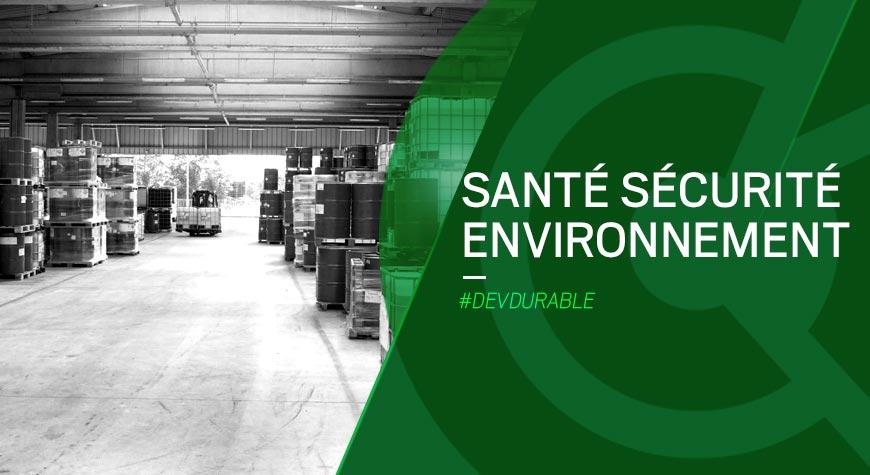 Atelier Santé Sécurité Environnement – décembre 2021