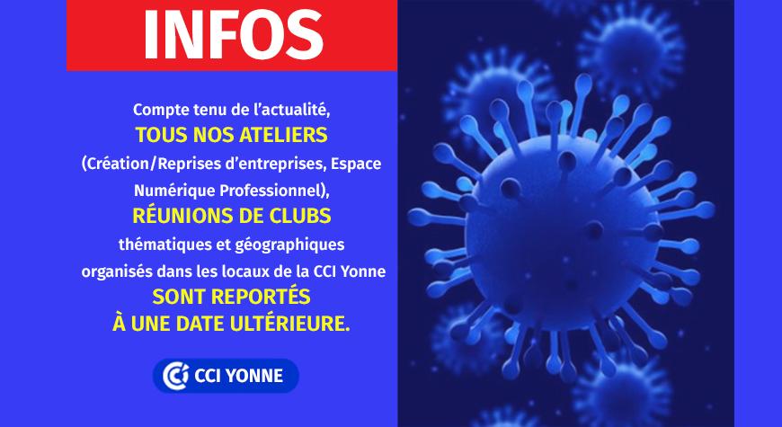 INFOS – Evénement CCI Yonne