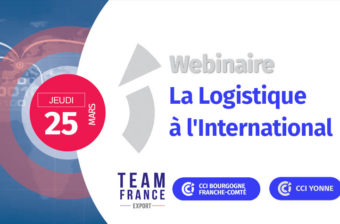 Webinaire – La logistique à l'international