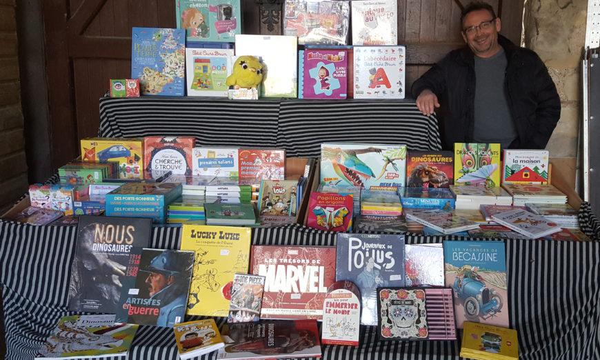 Face au covid, Thierry Moitié, vendeur de livres itinérant, se réinvente sur le Cloud