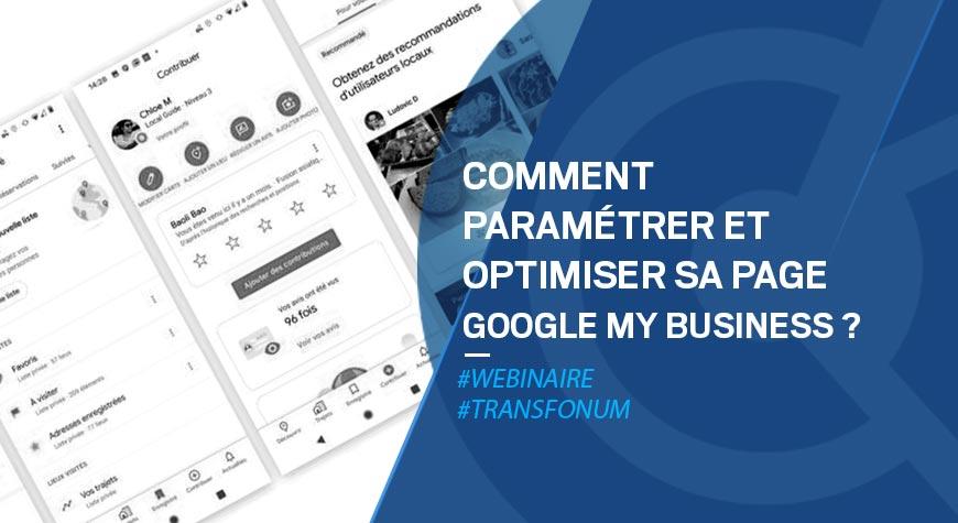 Atelier Google – Optimiser sa fiche My Business